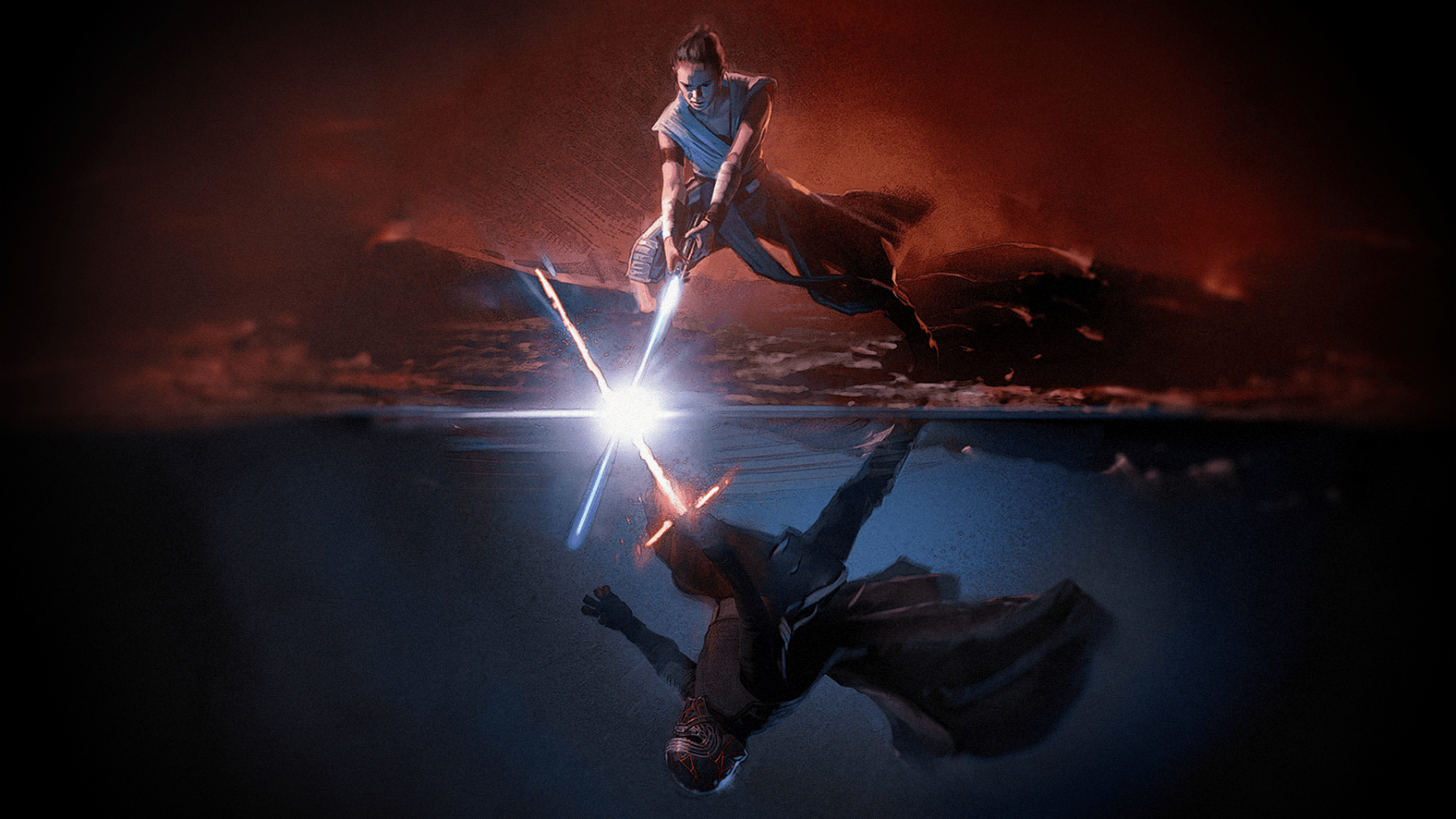 Star Wars Rise Of Skywalker 1800x1013 Wallpaper Teahub Io