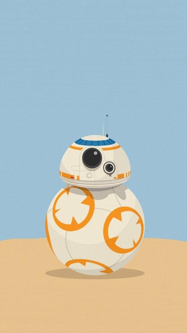 Star Wars Bb 8 Wallpaper Android 640x1136 Wallpaper Teahub Io