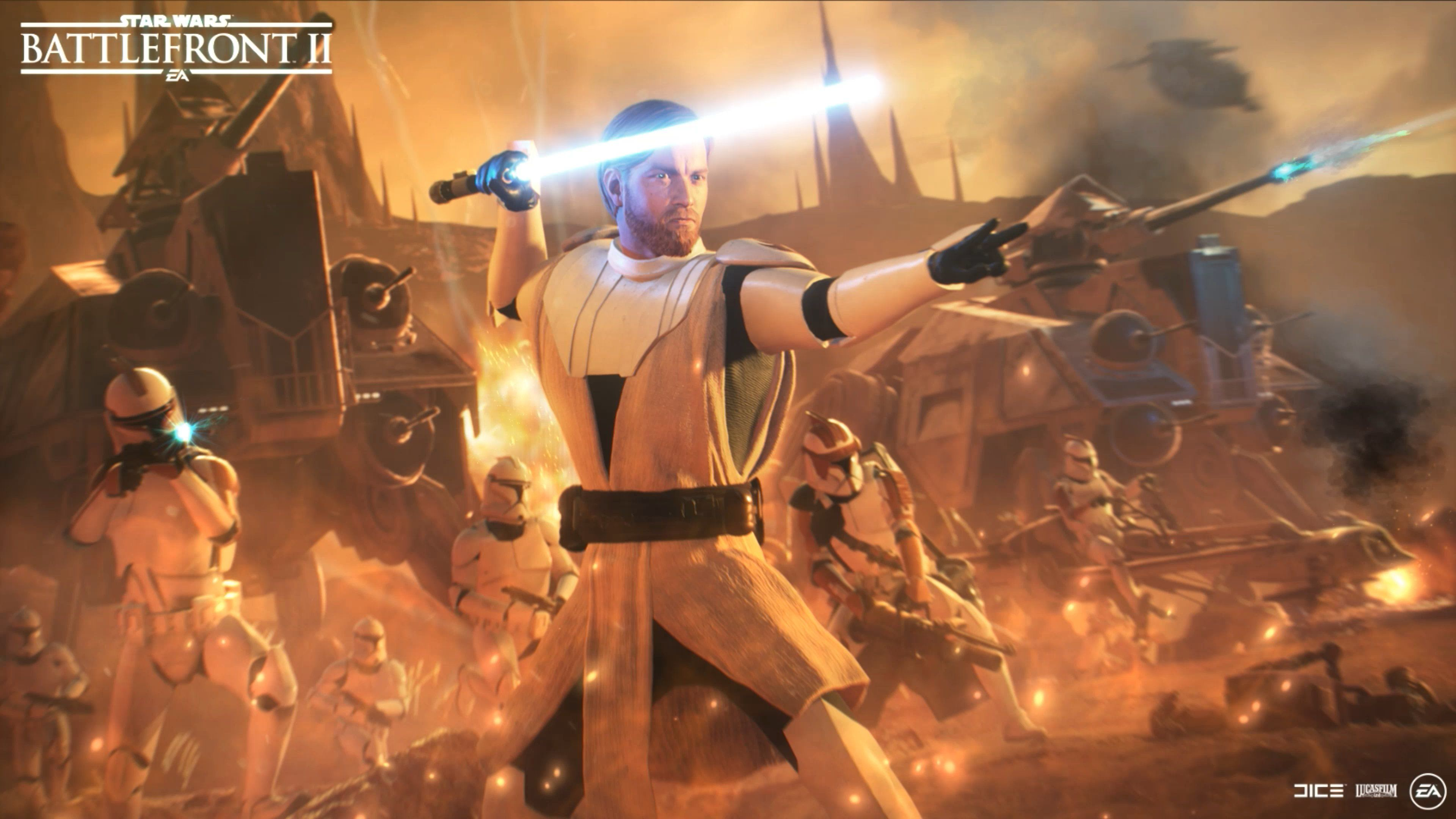 Obi Wan Kenobi General Kenobi Battlefront 2 3840x2160 Wallpaper Teahub Io