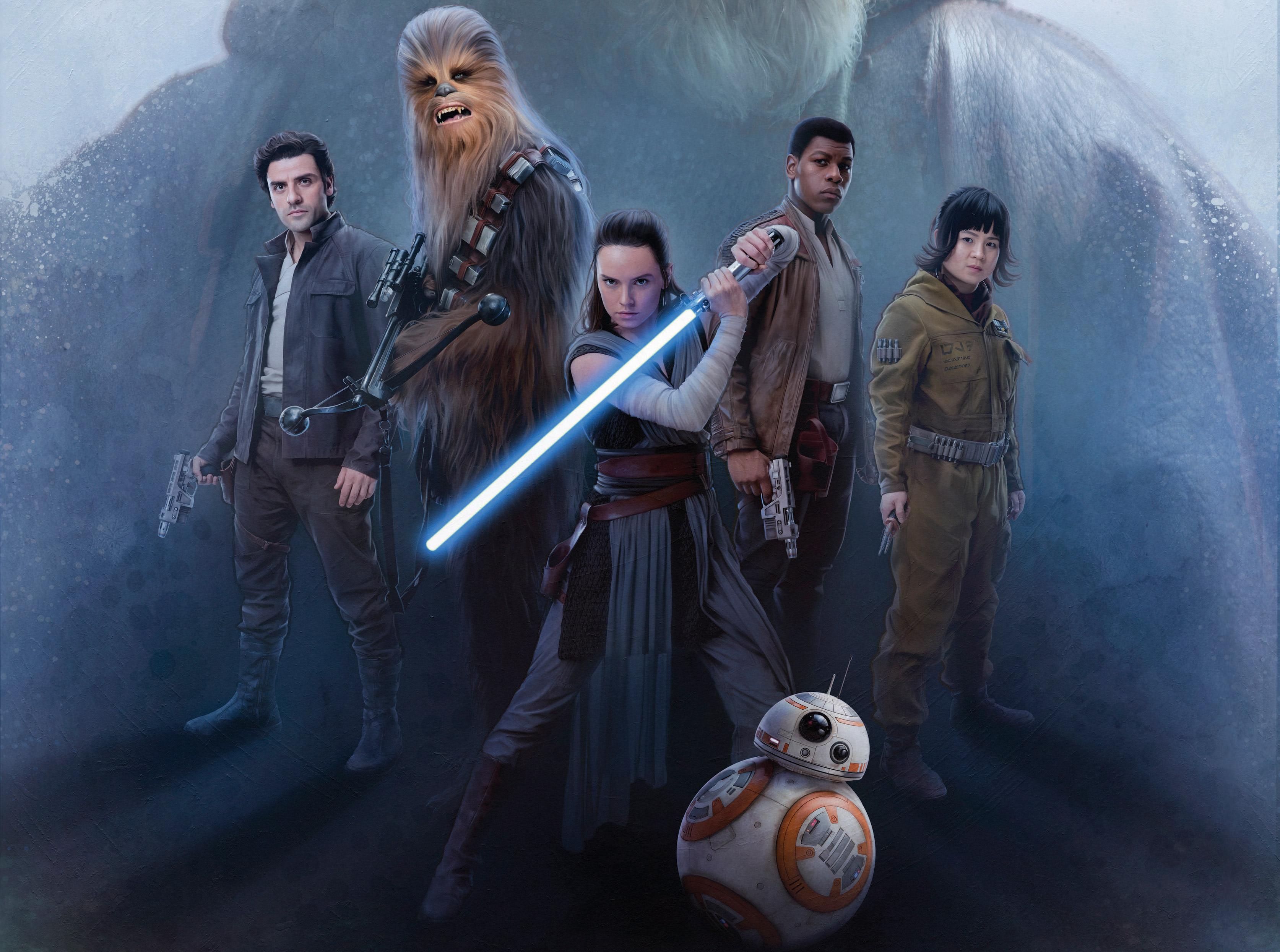 Star Wars The Last Jedi Hd 3348x2491 Wallpaper Teahub Io