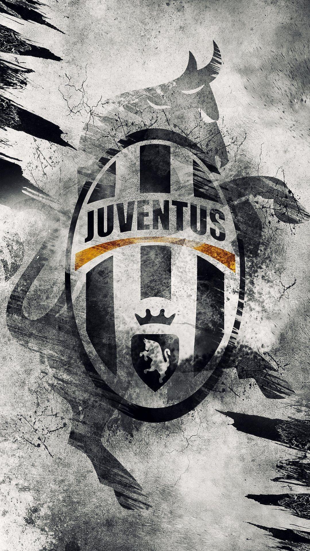 Juventus Fc Logo Hd Wallpaper Juventus 1080x1920 Wallpaper Teahub Io