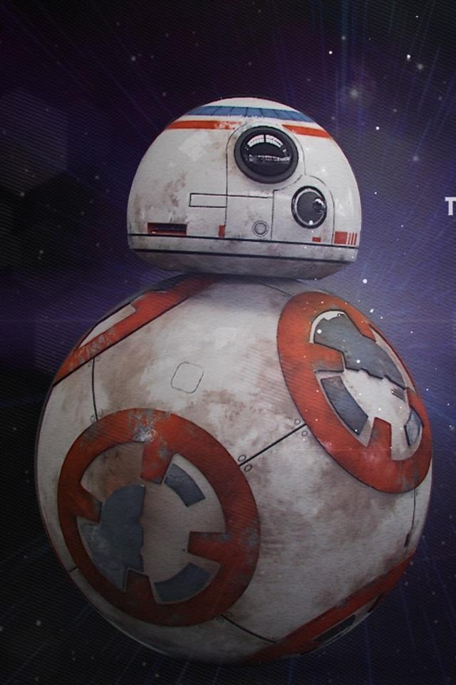 Star Wars Wallpaper Bb8 640x960 Wallpaper Teahub Io