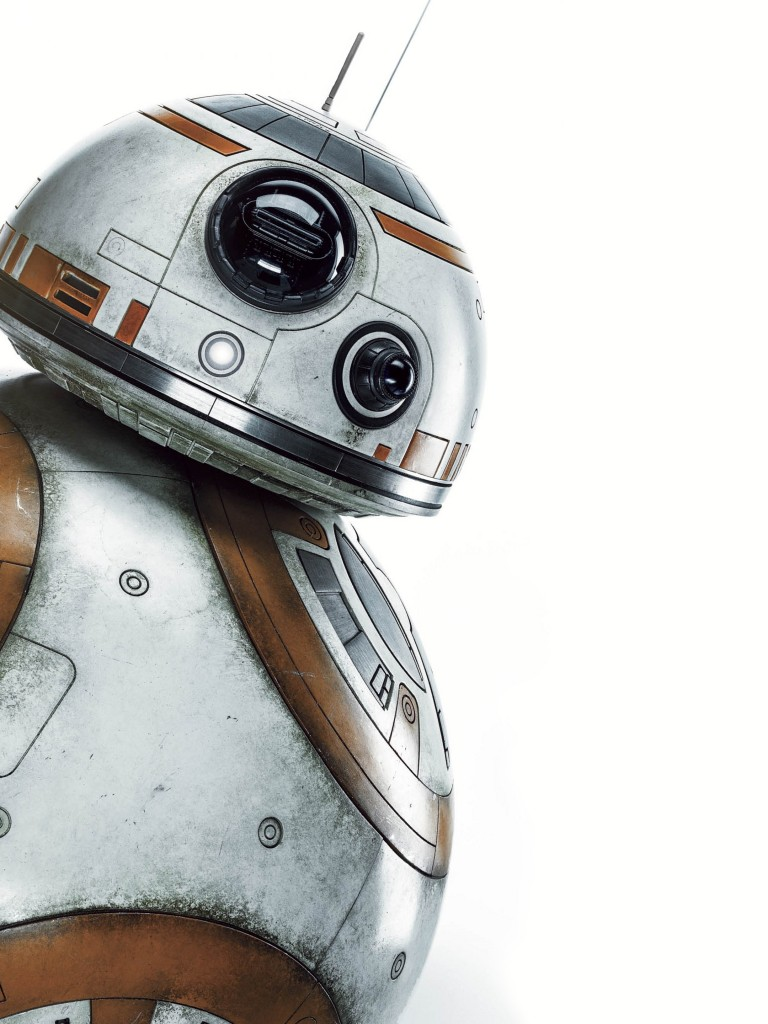 Star Wars Wallpaper Hd Bb 8 768x1024 Wallpaper Teahub Io