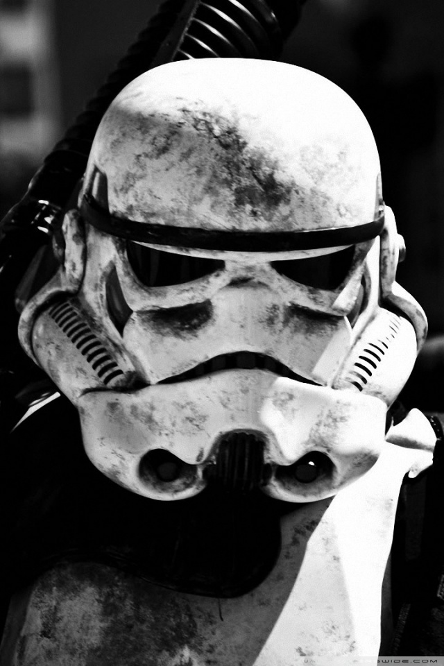 Star Wars Stormtrooper Wallpaper For Iphone 640x960 Wallpaper Teahub Io