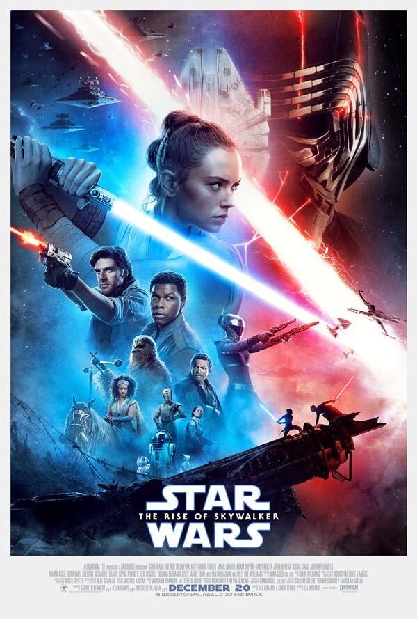 Star Wars The Rise Of Skywalker Movie Poster 600x889 Wallpaper Teahub Io