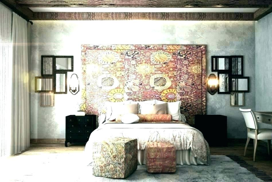 Bedroom Accent Wall Ideas Master Painted Rooms Dining - One Wall Wallpapered Bedroom - HD Wallpaper