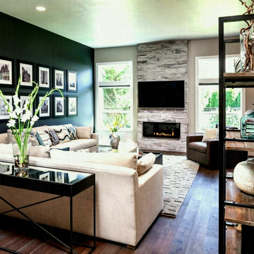 Modern Small Living Room Design - HD Wallpaper