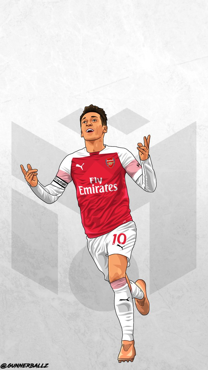 Iphone Arsenal Players Wallpaper 2019 675x1200 Wallpaper Teahub Io