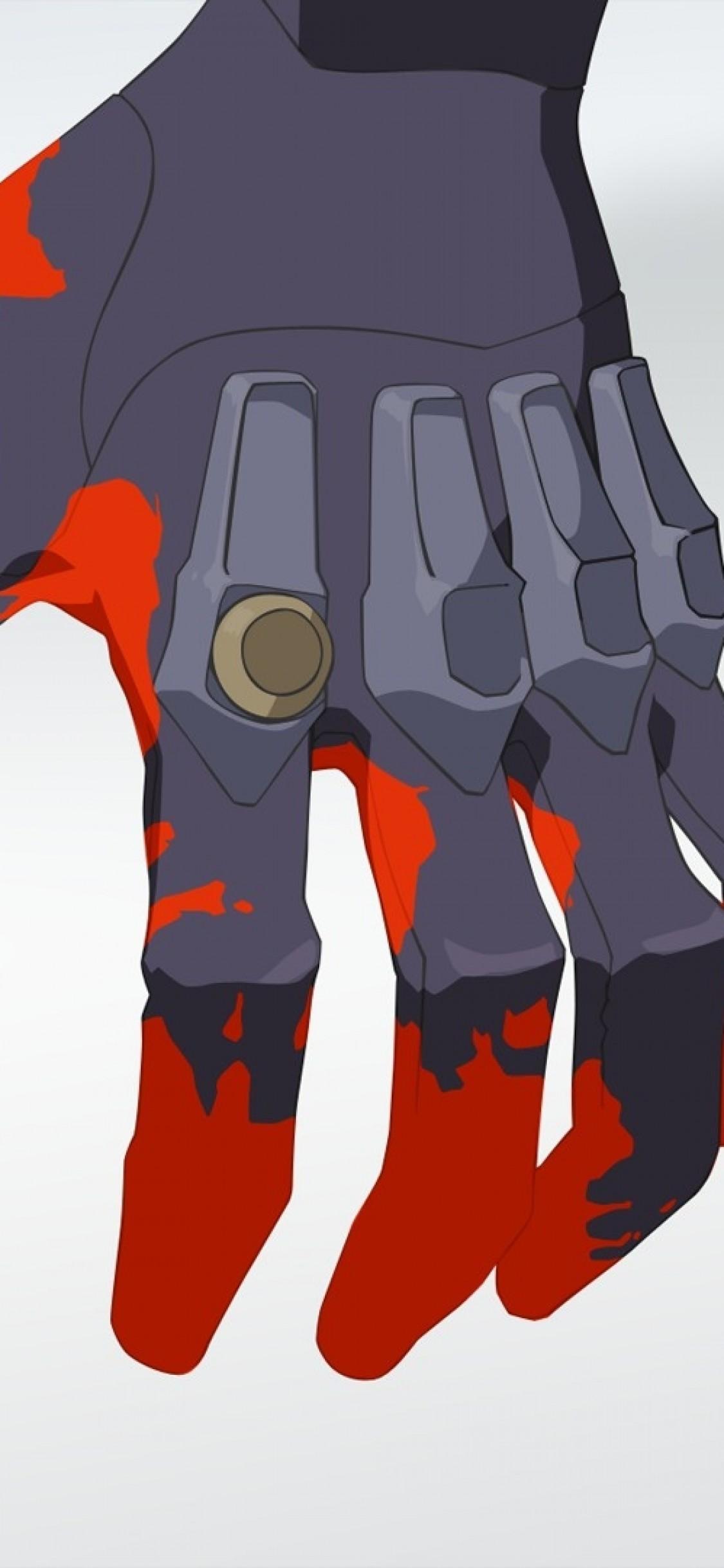 Neon Genesis Evangelion Eva Unit 01 Hand Fingers Neon Genesis Evangelion Unit 02 Hand 1125x2436 Wallpaper Teahub Io