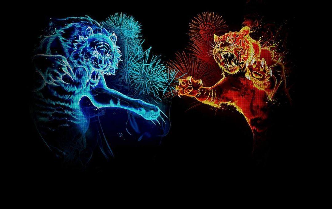 Neon Animal Abstract 1080x682 Wallpaper Teahub Io
