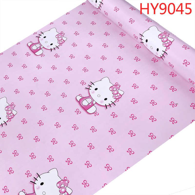 Hello Kitty Pink Blue Wallpaper 3d Lovely Cartoon Cat - Wallpaper - HD Wallpaper