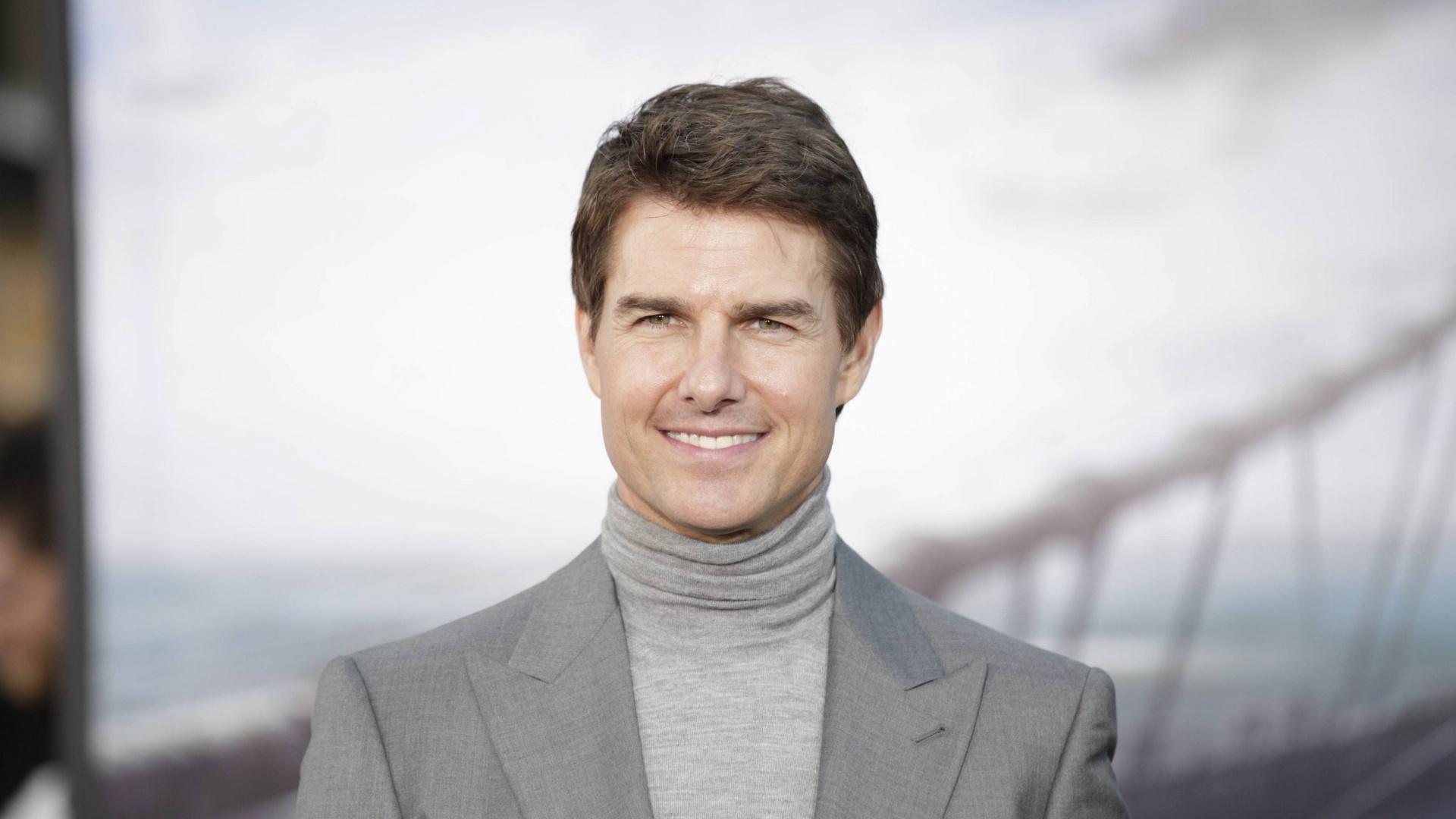 Celebrity Smile Tom Cruise Wallpaper 1920x1080 Wallpaper Teahub Io