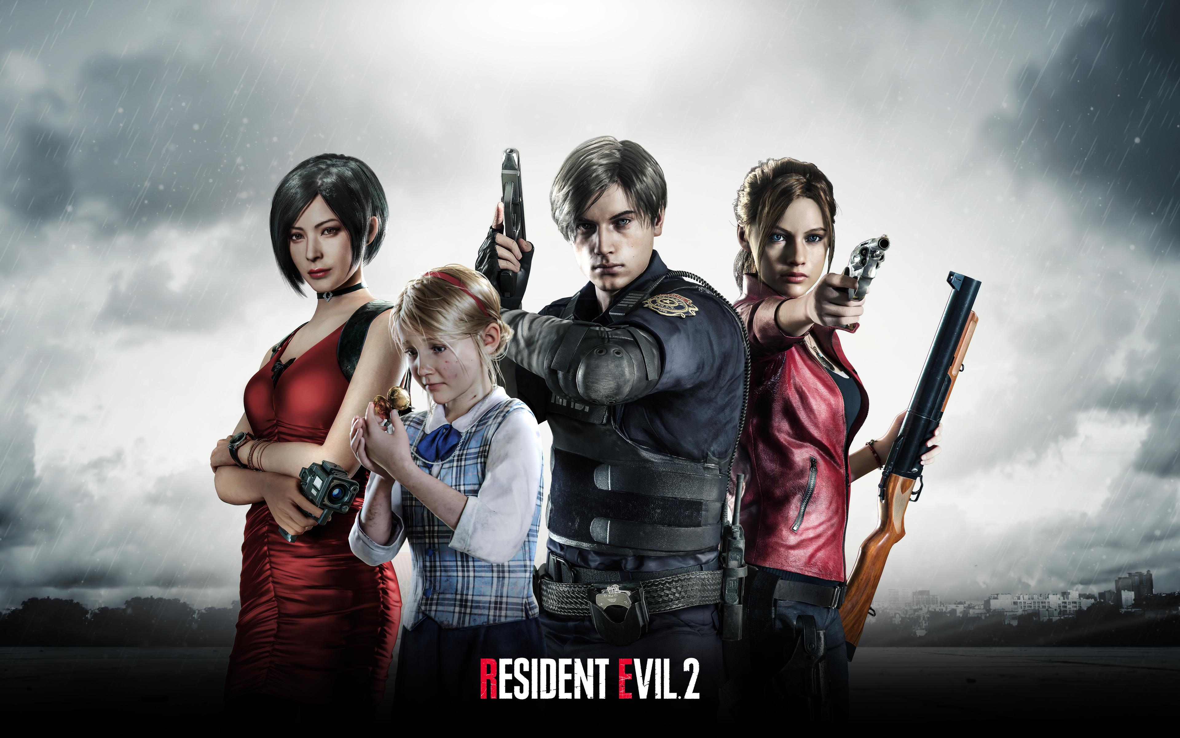 Resident Evil 2 4k Poster 2019 Games Artwork Creative