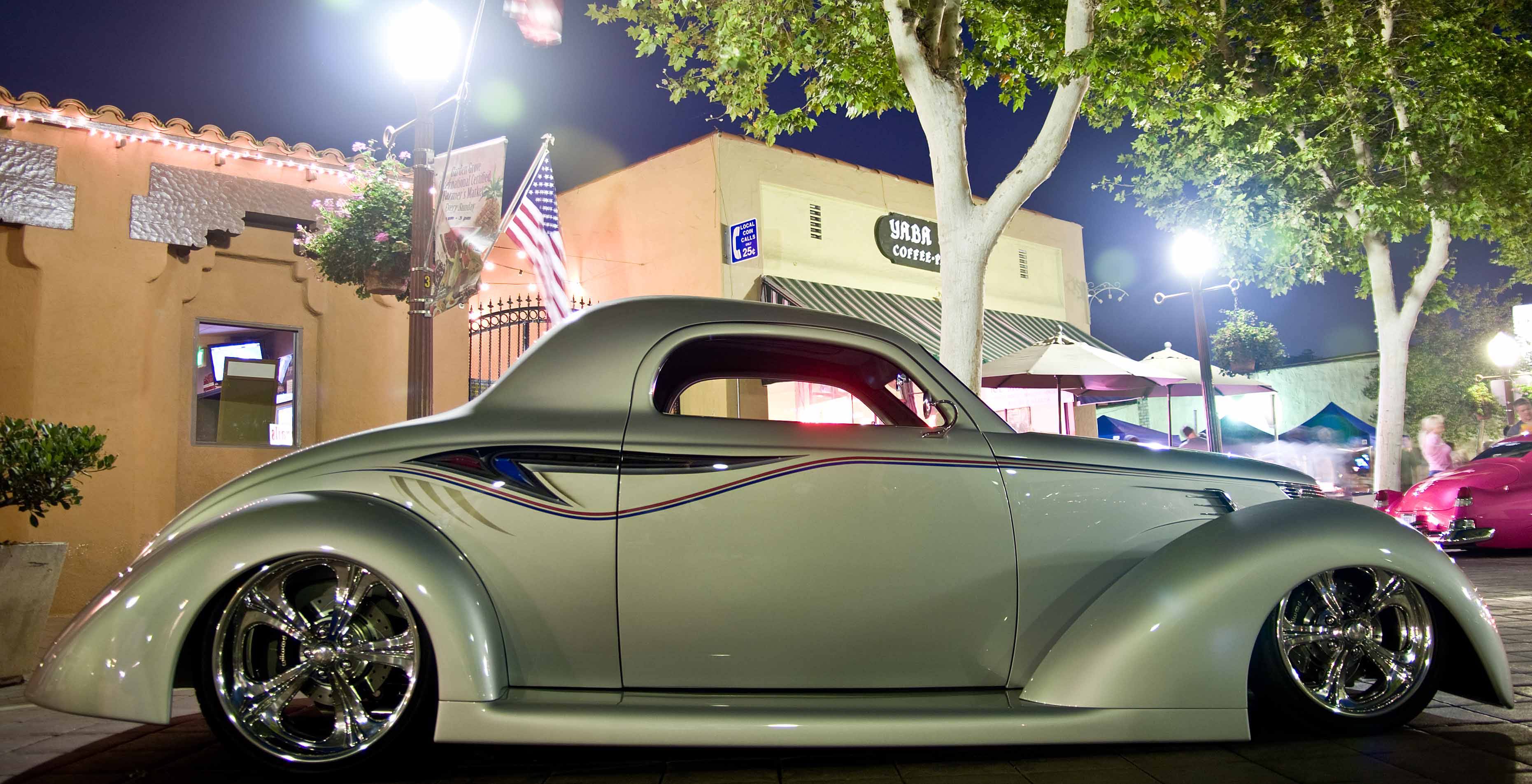 37 Ford Coupe Hot Rod - HD Wallpaper