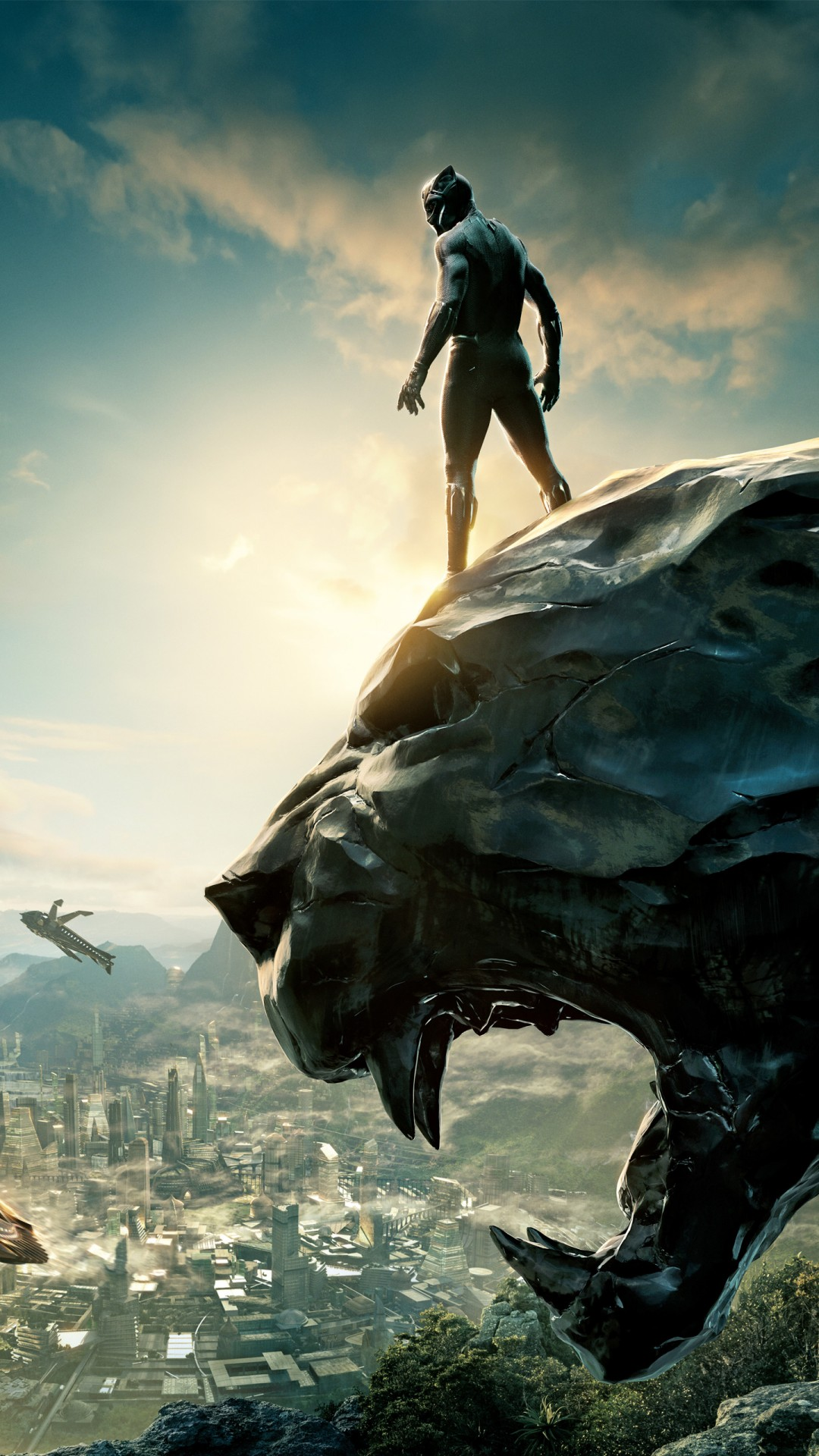 Black Panther 4k Wallpaper For Mobile 1080x1920 Wallpaper Teahub Io