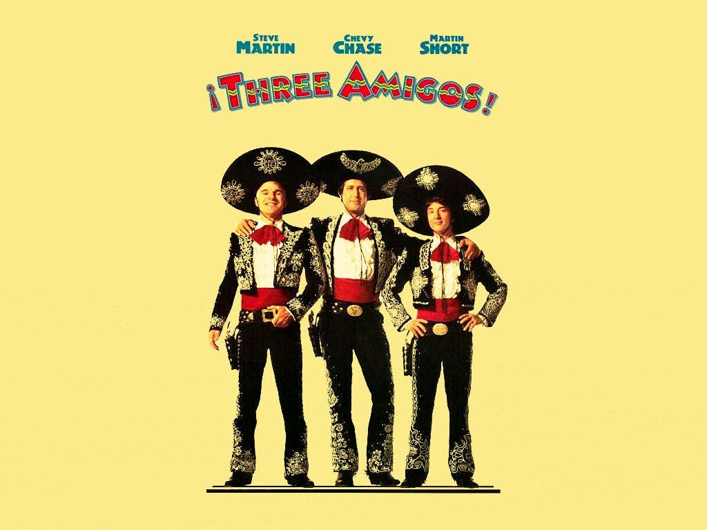 3 Amigos Movie Poster - HD Wallpaper