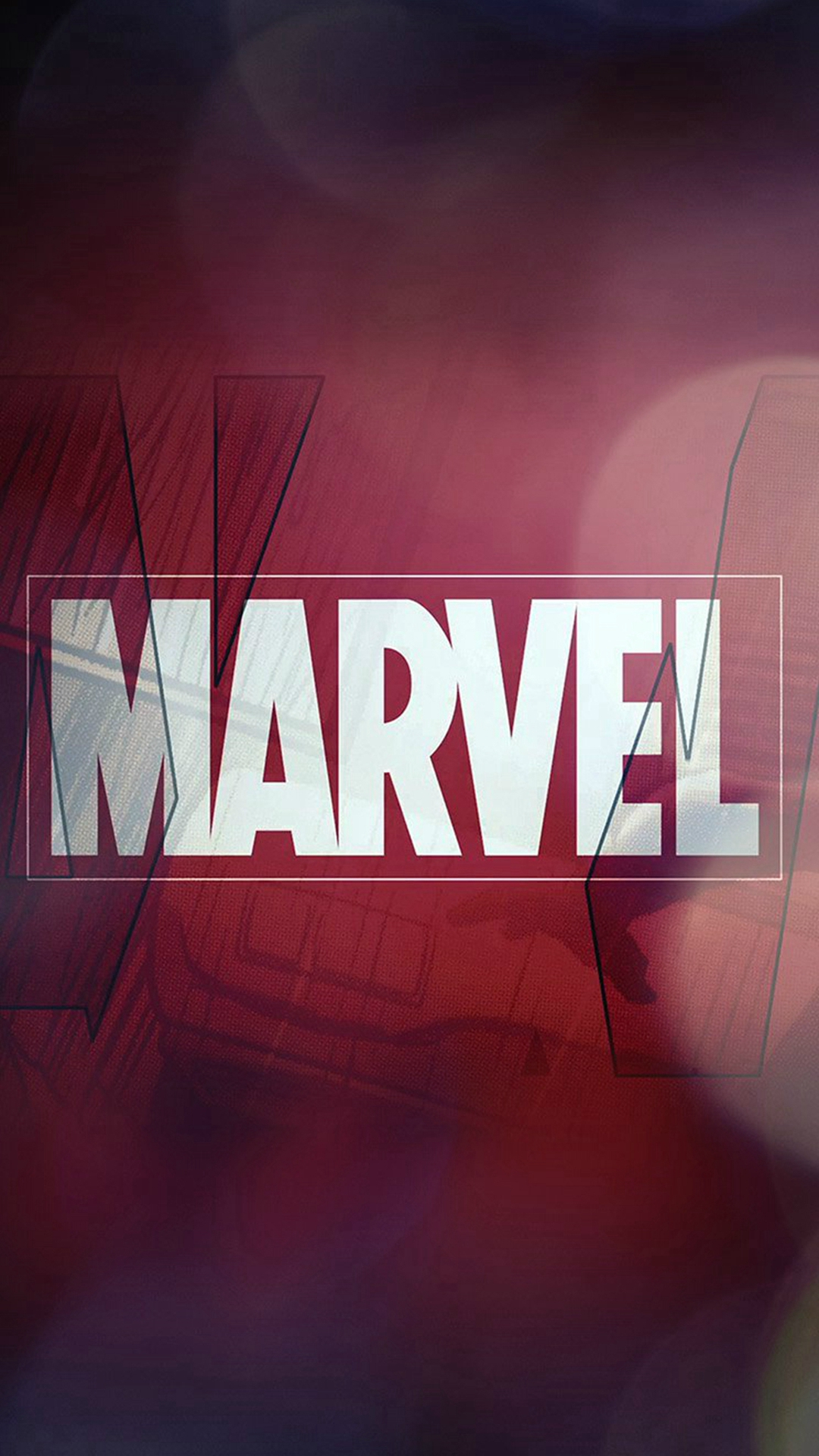Marvel Logo Wallpaper Iphone - HD Wallpaper