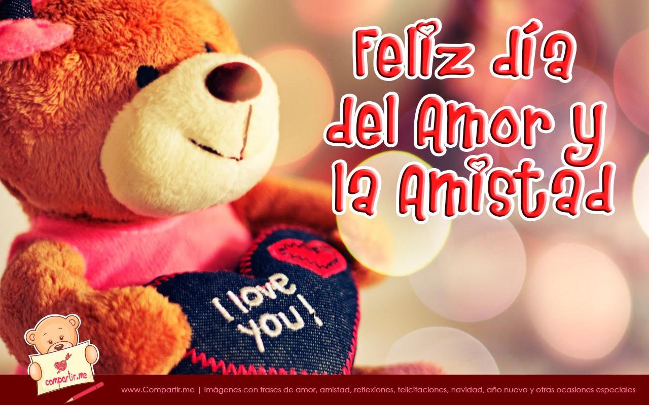 Feliz Dia De Del Amor Y La Amistad - HD Wallpaper