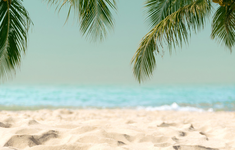 Photo Wallpaper Sand, Sea, Wave, Beach, Summer, The - Beach Sea And Sand - HD Wallpaper