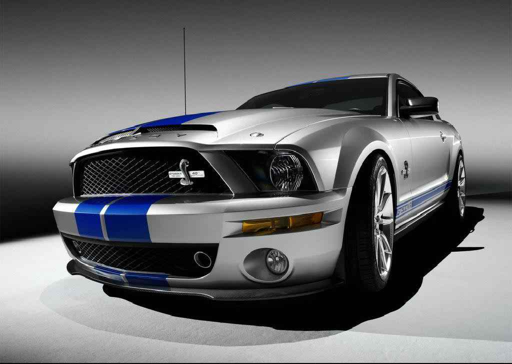 Cobra Ford Hot Wallpaper - Ford Mustang Shelby Gt 500 - HD Wallpaper