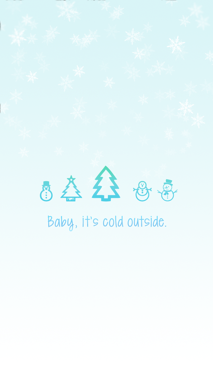 246 2469865 baby its cold outside iphone 7