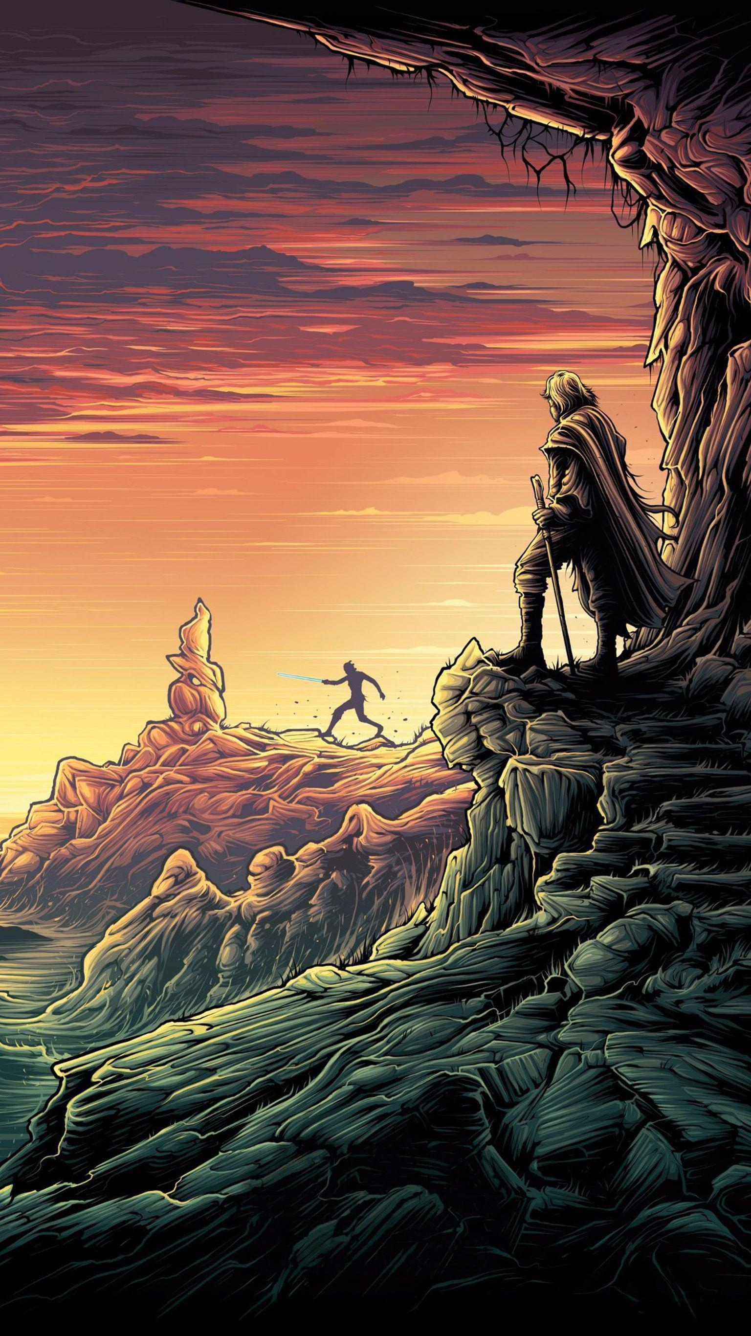 Awesome Dark Abstract Wallpapers Mobile Phone Hd Dan Mumford Star Wars Last Jedi 1536x2732 Wallpaper Teahub Io