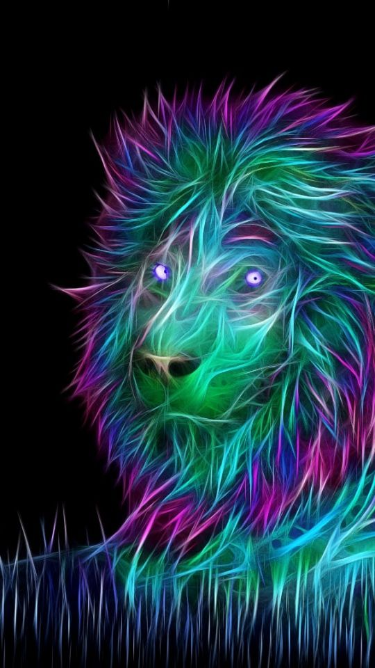 Lion 3d Art - HD Wallpaper