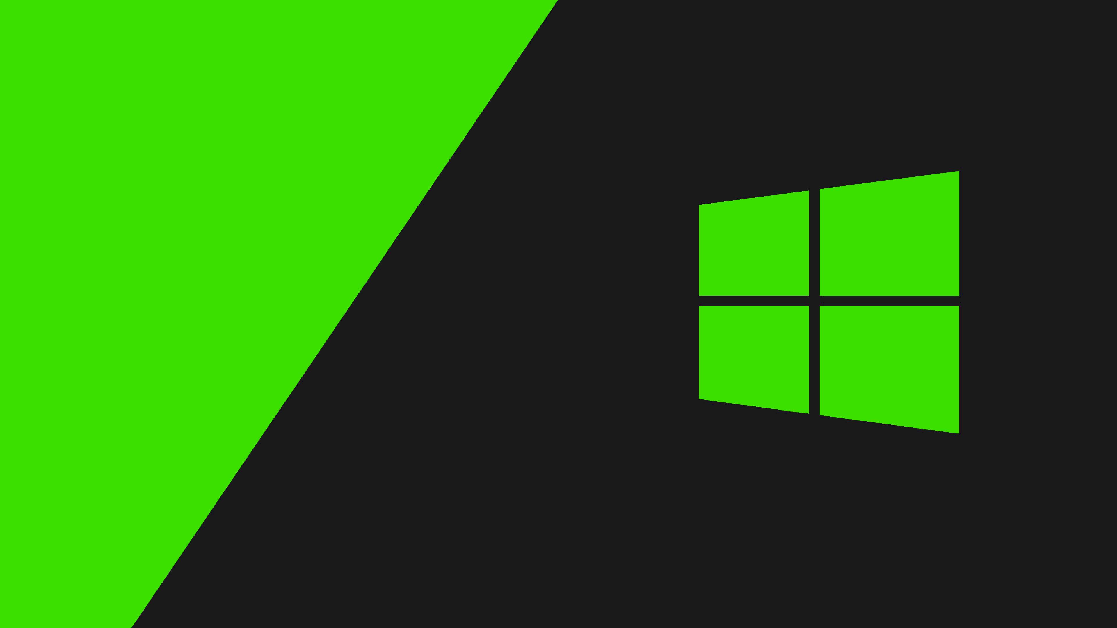 Windows 10 Background Green - HD Wallpaper