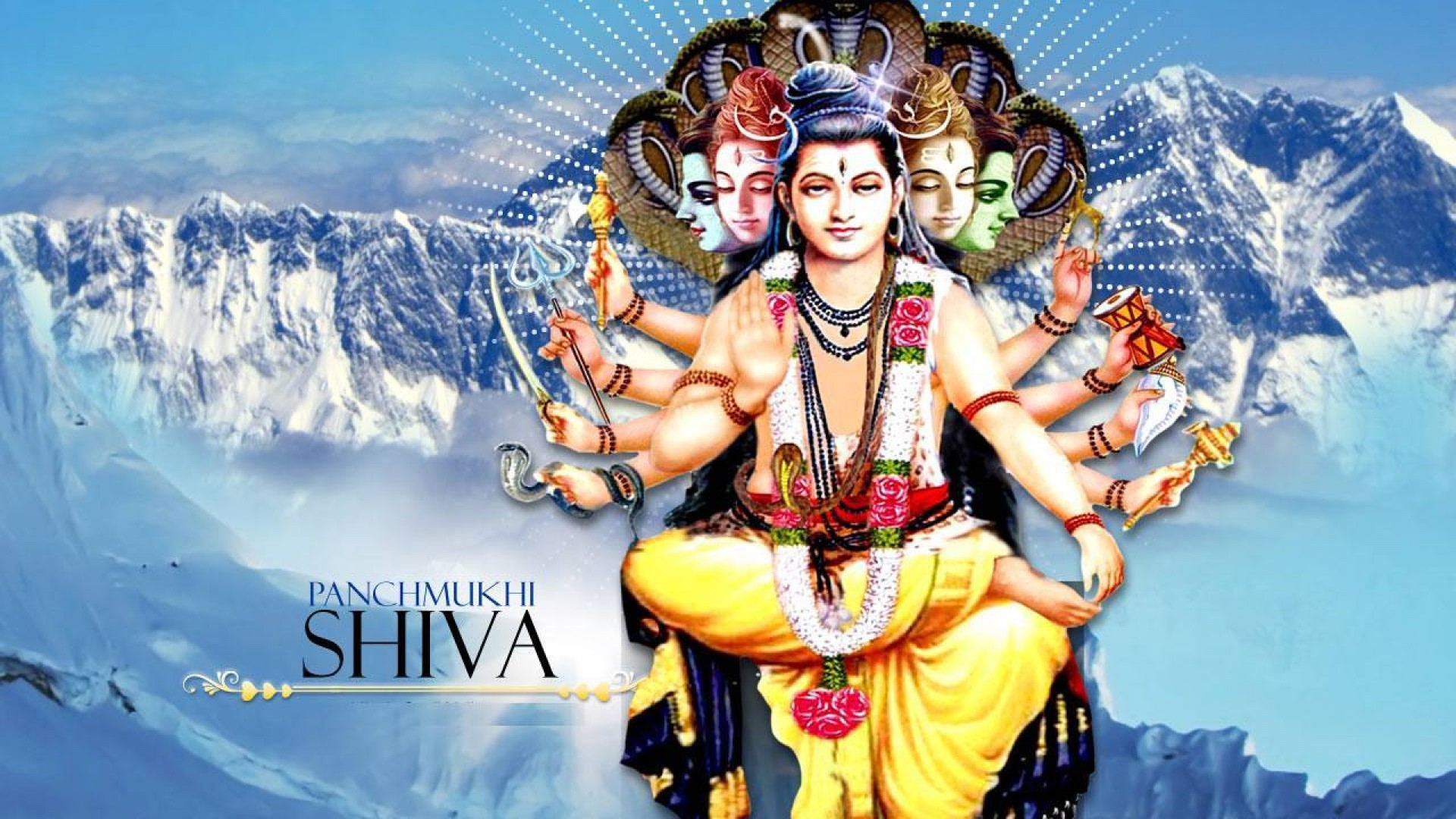 Lord Shiva Wallpapers High Resolution - Everest - HD Wallpaper