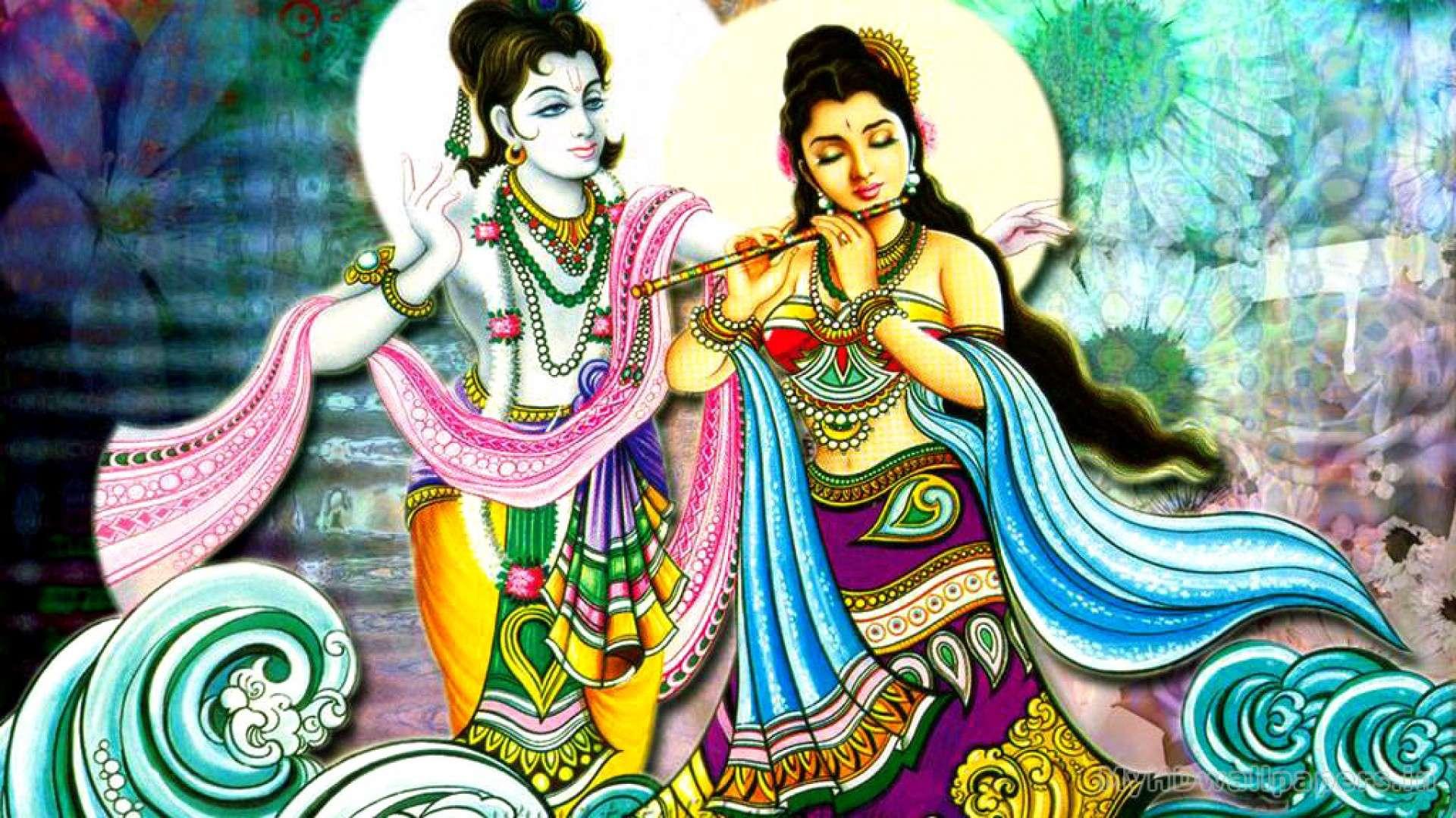Radha Krishna Wallpapers Full Quality - Radha Krishna Full Hd - HD Wallpaper