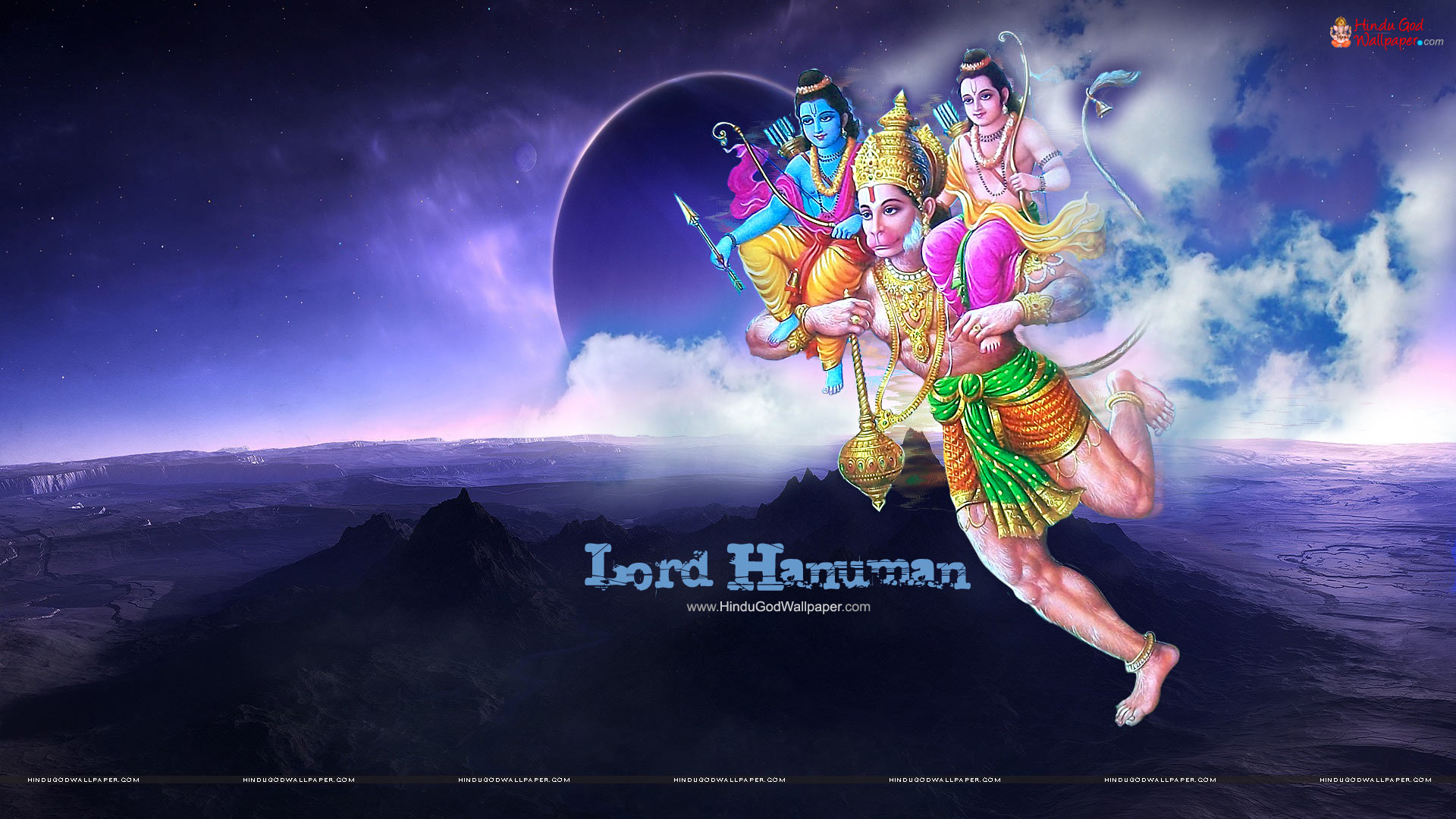 Desktop Hanuman Hd Wallpaper Download 1920x1080 Wallpaper Teahub Io