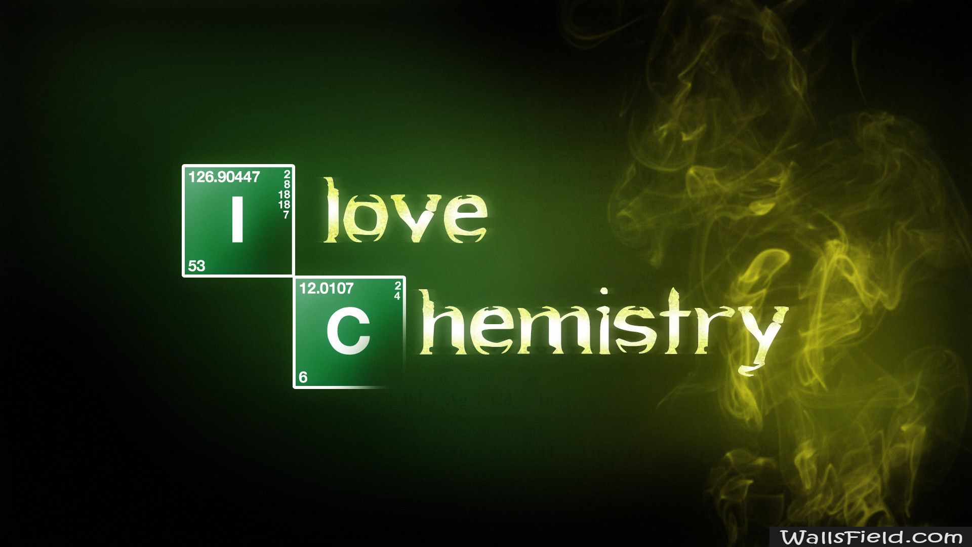 1920x1080, You Can View, Download And Comment On I - Love Chemistry Breaking Bad - HD Wallpaper