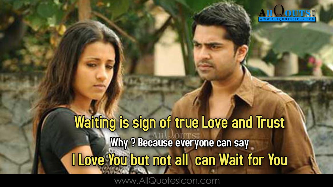 Tamil Vinnaitandi Varuvaya Movie Dialogues Tamil Vinnaitandi - True Love Quotes In Tamil - HD Wallpaper