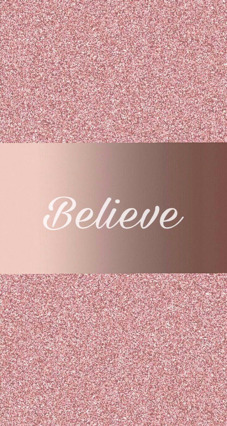 Rose Gold Phone Wallpaper For Girls - HD Wallpaper
