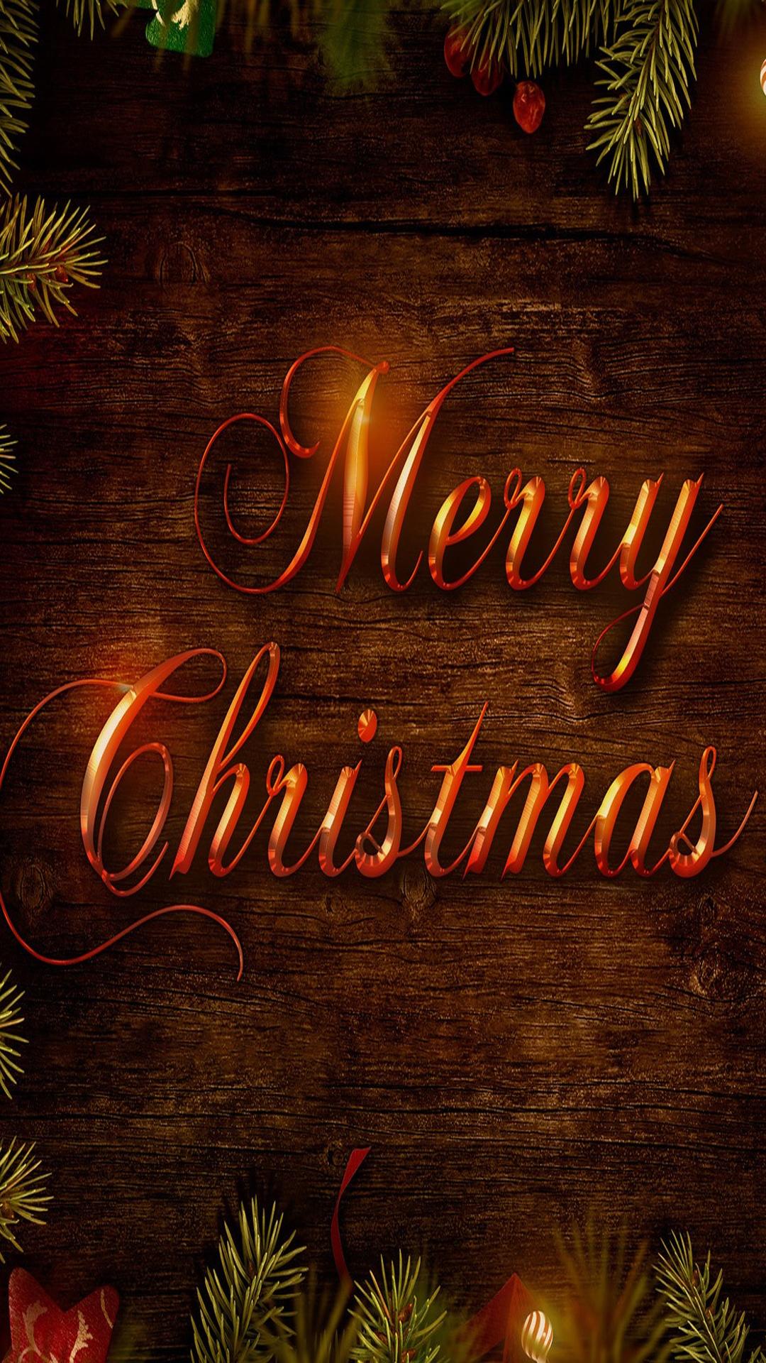 Merry Christmas Wallpaper For Iphone 1080x1920 Wallpaper Teahub Io