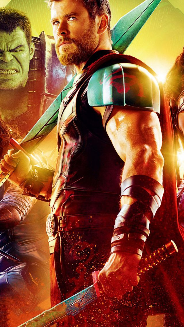 Ragnarok, Chris Hemsworth, Poster, 4k - Thor Ragnarok Hd Wallpaper For Iphone - HD Wallpaper