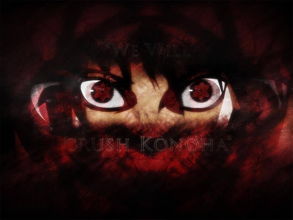 Sasuke Uchiha - Sasuke Mangekyou Sharingan - HD Wallpaper