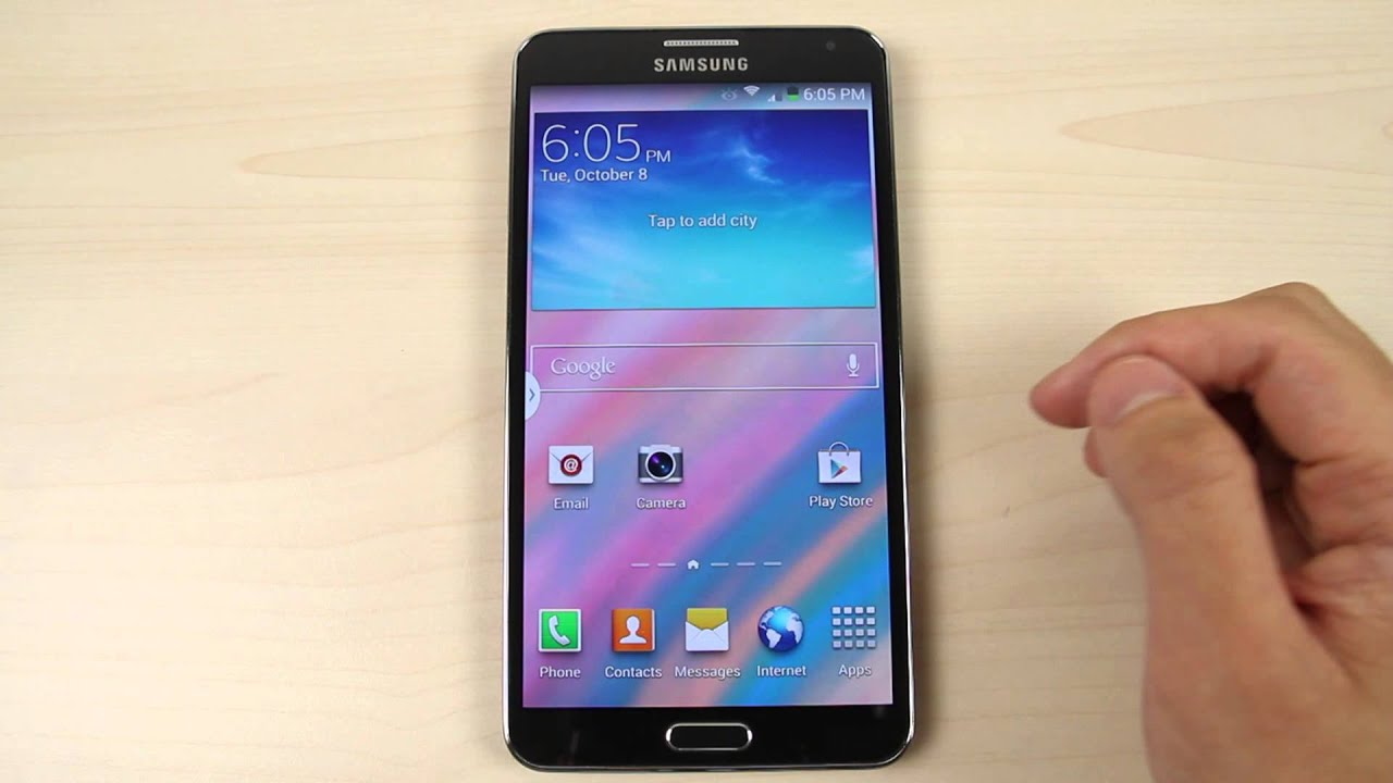 Home Screen Samsung Galaxy J3 1280x720 Wallpaper Teahub Io