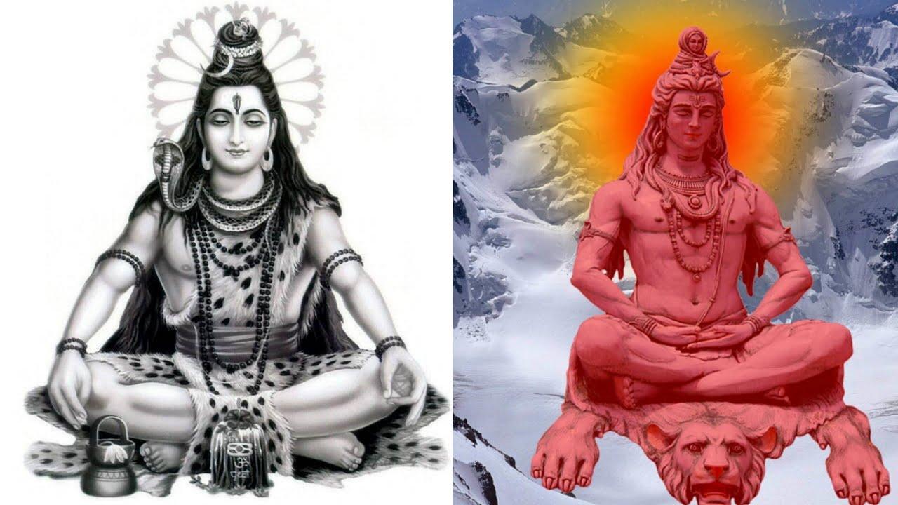 Portrait Meditation Lord Shiva 1280x720 Wallpaper Teahub Io