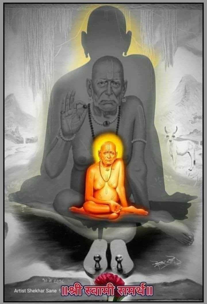 Sai Baba And Shri Swami Samarth 720x1055 Wallpaper Teahub Io