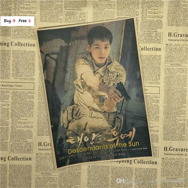 Descendant Of The Sun Poster - HD Wallpaper