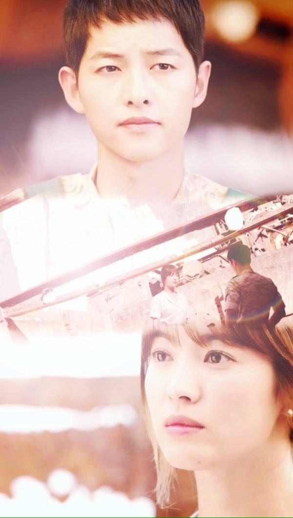 Song Hye Kyo And Song Joong Ki Descendants Of The Sun - HD Wallpaper