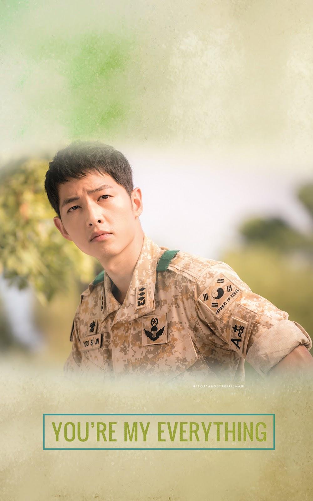 Descendants Of The Sun Wallpaper - Song Joong Ki Descendants Of The Sun - HD Wallpaper