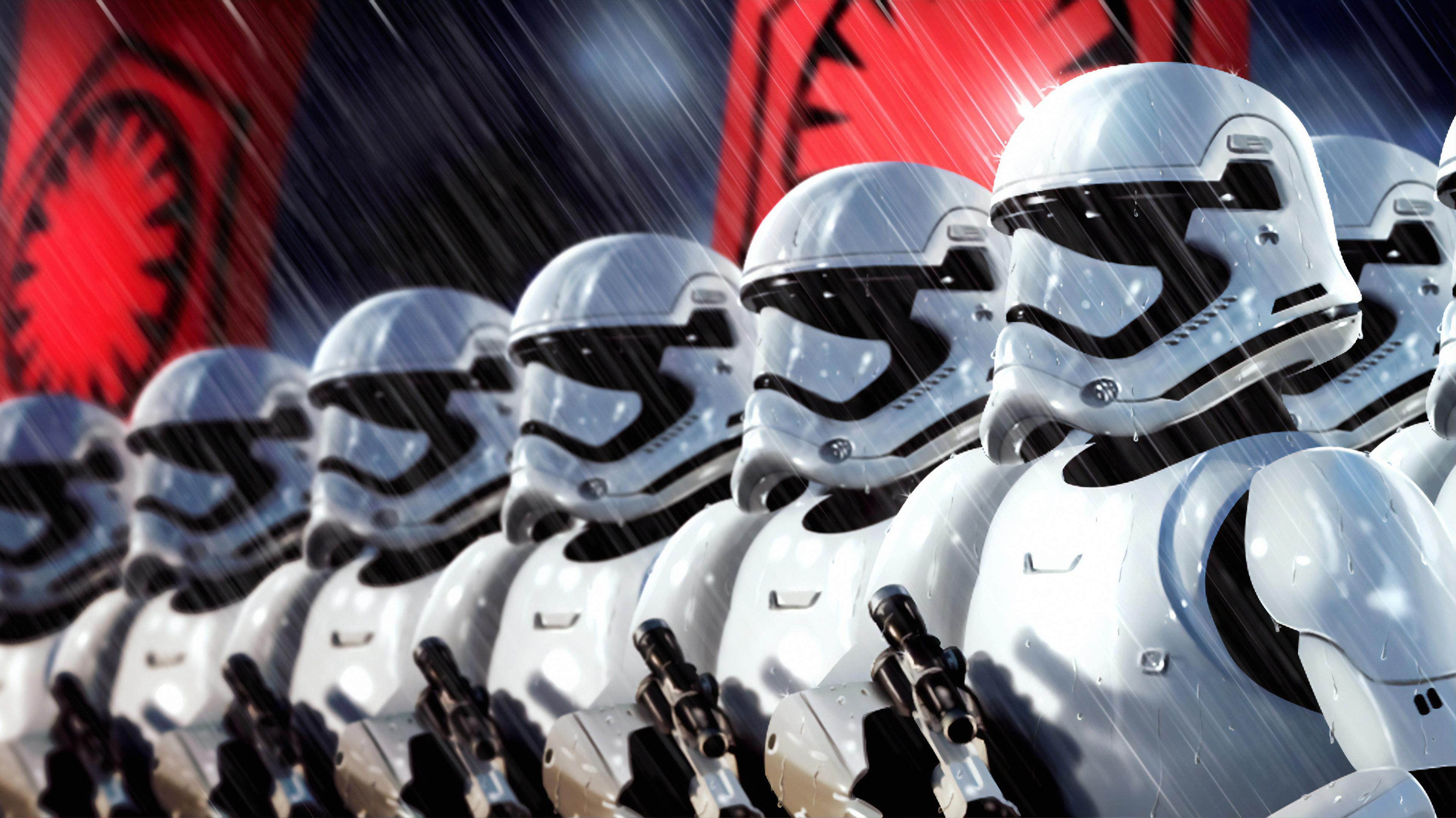 Stormtroopers Art Star Wars Stormtrooper Wallpaper Hd 3840x2160 Wallpaper Teahub Io