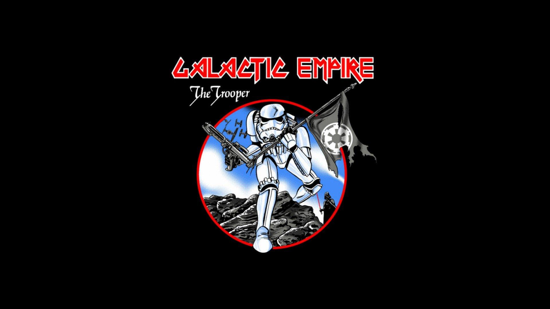 Funny Star Wars Wallpaper Hd Free Download For Desktop Iron Maiden The Trooper Parody 1920x1080 Wallpaper Teahub Io