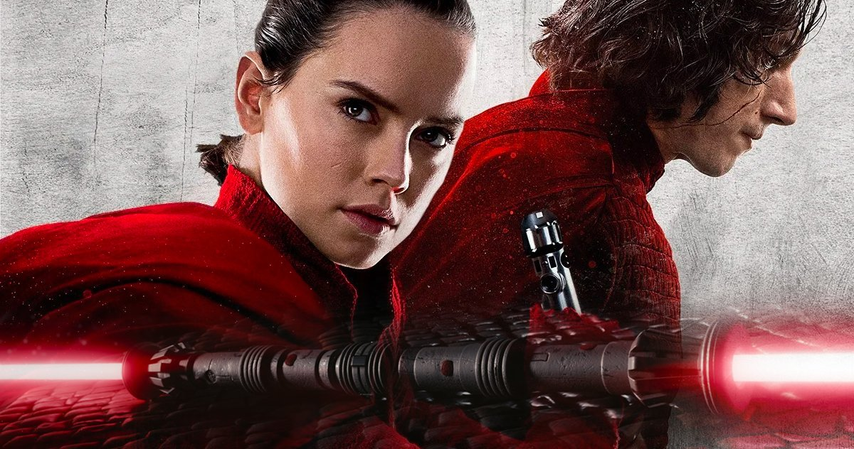 Rey With Double Bladed Lightsaber 1200x632 Wallpaper Teahub Io