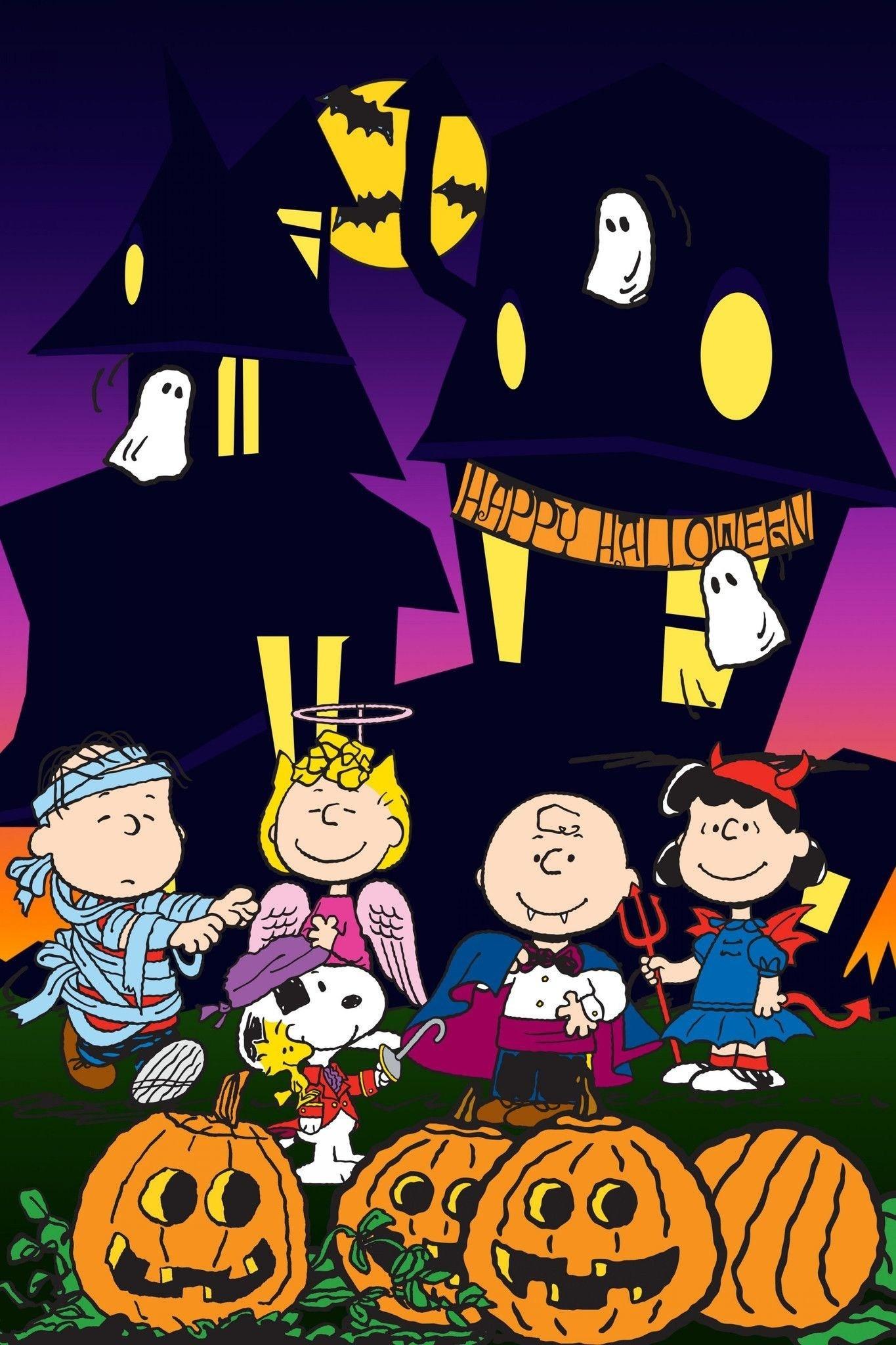 Peanuts Halloween Wallpaper Free Jpg Peanuts Halloween - Great Pumpkin Charlie Brown 2018 - HD Wallpaper
