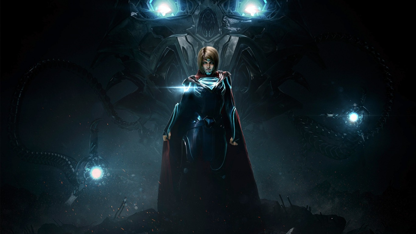 Supergirl-injustice Gods Among Us 2 Hd Game Wallpaper2017 - Injustice 2 Wallpaper Supergirl - HD Wallpaper