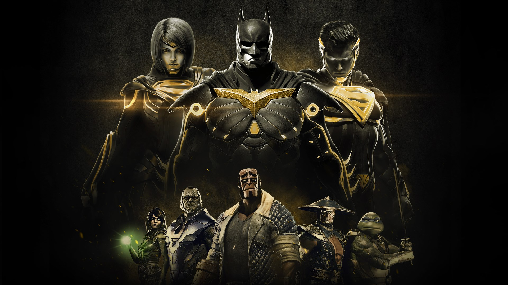 Injustice 2 Legendary Edition Pc Cover - HD Wallpaper