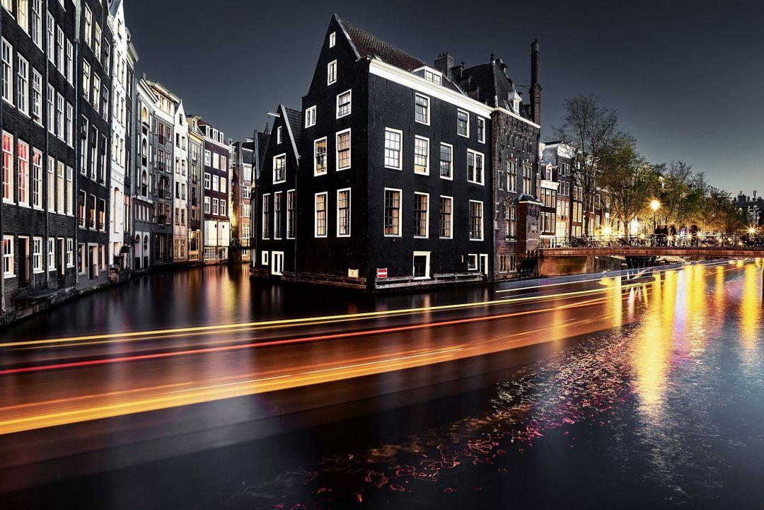 Amsterdam Hd Wallpapers (1080p, 4k) (36707) - Night Amsterdam Wallpaper Desktop - HD Wallpaper
